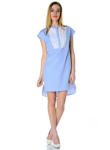Cotton Bar Elbise Mavi